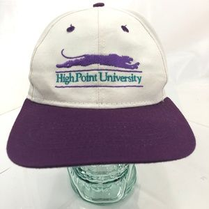 HIGH POINT UNIVERSITY Snapback Vintage White Hat